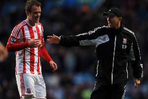 Glenn Whelan played with Tony Pulis at Stoke City. Pic: Getty