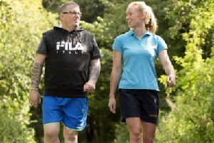 Caring responsibilities can take a heavy toll on a carer's health and well-being ' staying active can lead to a happier life