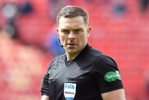 "John Beaton was accused by Tom Boyd of a ""pre-meditated decision"" not to award Celtic a penalty against Dunfermline"