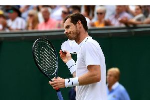 Andy Murray is stepping up his return to singles action