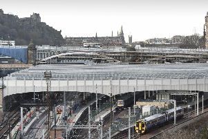 Services from Edinburgh Waverley delayed by 'up to 30 minutes' after reports of trespassers on the track