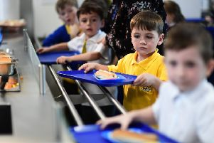 Strict standards govern what pupils can be fed in schools. Picture: John Devlin