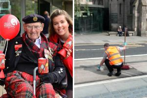 Tom Gilzean is understood to have fallen from his mobility scooter at York Place.
