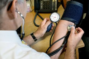 A GP at work. Picture: Anthony Devlin/PA Wire