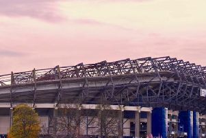 BT Murrayfield in Edinburgh.