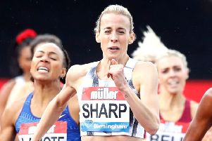 Scots 800m runner Lynsey Sharp has been in impressive form of late. Picture: Martin Rickett/PA Wire.