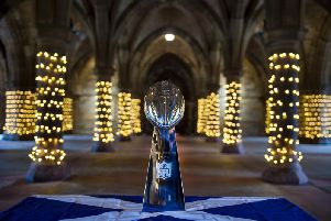 The Vince Lombardi trophy.