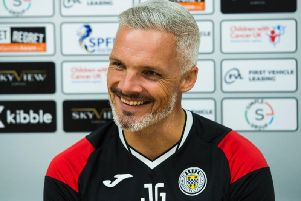 St Mirren manager Jim Goodwin