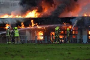 Officers attended, along with the Scottish Fire and Rescue Service, to Woodmill High School following reports the building was alight.