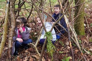 DEN: Fun in the woods raise money for charity