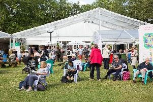 Edinburgh International Book Festival 2019. Picture: Robert Perry