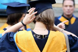 Students in Scotland have to start repaying student loans earlier than counterparts in England and Wales. Picture: Chris Radburn/PA Wire