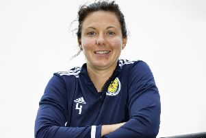 Scotland skipper Rachel Corsie is confident the team will be in good shape to face Cyprus on Friday. Picture: SNS.