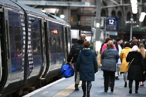 The number of passenger journeys with ScotRail has dropped by more than one million in the past year. Picture: JPIMedia