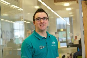 Danny McMahon, senior manufacturing engineer and team lead for digital manufacturing at the AFRC. Picture: Contributed