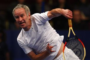John McEnroe previously appeared at the event. Picture: Getty