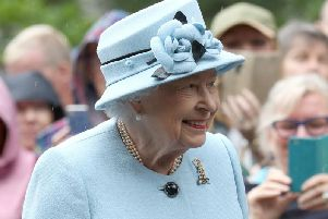 The Queen played the prank at Balmoral.