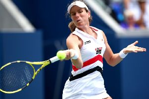 Johanna Konta is bidding to become the first British woman to reach the semi-finals of all four Grand Slams in the open era. Picture: Getty
