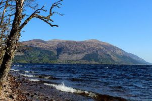 The accident took place on Loch Lochy in the Highlands Picture: Chris Heaton/Geograph/https:/creativecommons.org/licenses/by-sa/2.0/