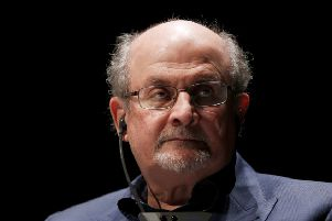 Salman Rushdie (Photo by CHARLY TRIBALLEAU / AFP)CHARLY TRIBALLEAU/AFP/Getty Images