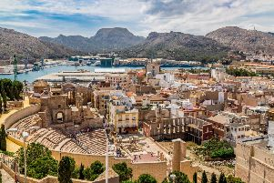 Cartagena, Spain, one of the most interesting stops on a Fred Olsen Mystery Cruise
