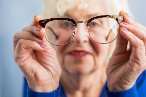 The research warns spectacles bought online could present safety risk.