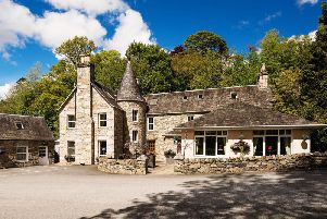 The four-star boutique hotel, originally part of the Atholl Estate, was recently crowned Scotlands Hotel of the Year 2019. Picture: Contributed