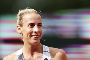 Lynsey Sharp has been in fine form. Picture: Naomi Baker/Getty Images