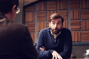 David Tennant has a leading role in Criminal. (Picture: Netflix)