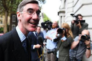 Jacob Rees-Mogg has made a big impression in his early exchanges as Leader of the House of Commons. Picture: Chris J Ratcliffe/Getty Images