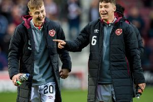 Harry Cochrane and Anthony McDonald, who are currently on loan at Dunfermline, are set to feature for Hearts under-21s. Picture: SNS