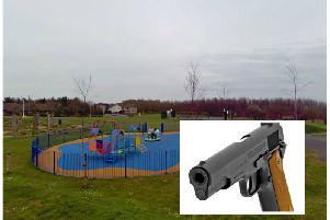 The incident happened at the play park on Magnus Drive in Glenrothes. Picture: Google Street View