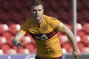 Former Motherwell player Chris Cadden moved to the MLS but was immediately loaned to Oxford United. Craig Foy/SNS