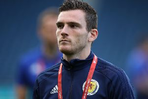 Scotland captain Andy Robertson. Picture: Ian MacNicol/Getty Images