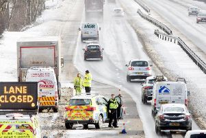 The Beast from the East caused chaos at the time. Picture: JPIMEDIA