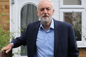 Britain's opposition Labour party leader Jeremy Corbyn leaves his home in north London on September 5, 2019. - Britain geared up for an early election on Thursday after parliament dealt a series of stinging defeats to Prime Minister Boris Johnson's hardline Brexit stance. (Photo by ISABEL INFANTES / AFP)ISABEL INFANTES/AFP/Getty Images