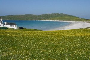 Balephuil Bay on Tiree, one of the locations visited by the Icelandic group. PIC: Creative Commons/Irvine Smith.