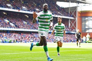Celtic striker Odsonne Edouard.