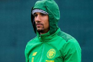 Celtic winger Scott Sinclair.