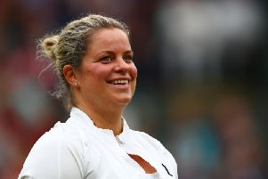 Kim Clijsters, pictured earlier this year, is making a comeback to tennis