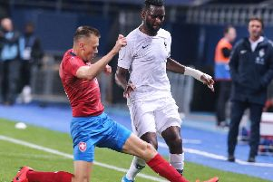 Odsonne Edouard has been in fine form for France U21. Picture: AFP/Getty Images