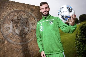 Jason Naismith is aiming to help Hibs climb the table. Picture: Roddy Scott/SNS Group