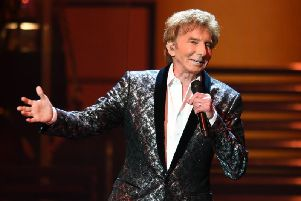 Barry Manilow will appear at the SSE Hydro next year. Picture: Larry Marano/Shutterstock