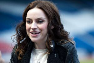 Singer Amy Macdonald appeared on Off The Ball.