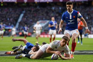England's Owen Farrell will look to replicate his Six Nations form against France.  Picture: Mike Hewitt/Getty Images
