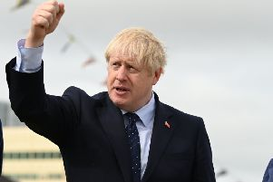 Despite pandering to the right, Johnson has always seen himself as liberal-minded. Picture: Daniel Leal-Olivas/Getty