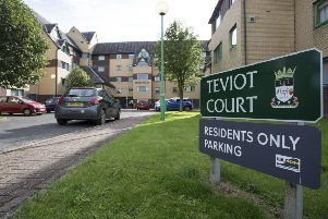 Teviot Court in Hawick.