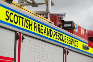 Emergency services were called to the scene of the fireatMains of Panholes.