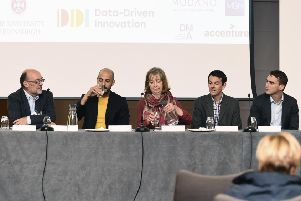 Scotsman Conference - Doing Data Right: Through people and partnerships at ''John McIntyre Confernce Centre - University of Edinburgh, by Lisa Ferguson