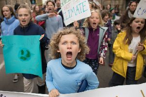 School climate strikers have become the biggest youth-led movement ever (Picture: Stefan Rousseau/PA Wire)